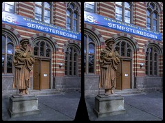 Educational facility »Carl Ritter« 3-D / CrossView / Stereoscopy / HDR / Raw (Stereotron) Tags: sachsenanhalt saxonyanhalt ostfalen harz mountains gebirge ostfalia hardt hart hercynia harzgau quedlinburg carlritter quietearth europe germany crosseye crosseyed crossview xview cross eye pair freeview sidebyside sbs kreuzblick 3d 3dphoto 3dstereo 3rddimension spatial stereo stereo3d stereophoto stereophotography stereoscopic stereoscopy stereotron threedimensional stereoview stereophotomaker stereophotograph 3dpicture 3dglasses 3dimage twin canon eos 550d yongnuo radio transmitter remote control synchron kitlens 1855mm tonemapping hdr hdri raw