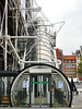 Centre Pompidou, Paris, France (duaneschermerhorn) Tags: architecture building structure architect modern contemporary modernarchitecture contemporaryarchitecture paris france europe escalator
