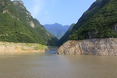 Yangtze River (oxfordblues84) Tags: peoplesrepublicofchina china victoriacruises victoriajenna victoriajennacruise yangtzerivercruise yangtzeriver oat overseasadventuretravel threerivergorge scenicrivercruise riverboatcruise rivercruise river water riverbank sky cloudy clouds
