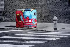 philadelphia street art (Martin Bachert) Tags: penns philadelphia street art streetart gra grafity power distribution box colorfull comic