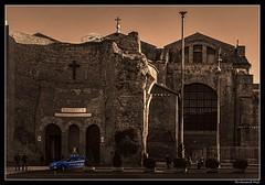 Roma_Santa Maria degli Angeli e dei Martiri_built inside the ruined frigidarium of the Roman Baths of Diocletian_ original design by Michelangelo Buonarroti_Piazza della Repubblica_Italia (ferdahejl) Tags: roma santamariadegliangeliedeimartiri roman bathsofdiocletian originaldesign michelangelobuonarroti piazzadellarepubblica italia piazza canondslr canoneos800d dslr basilica basilique architecture
