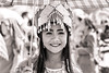 Hmong girl (Manon van der Lit) Tags: laos asia hmong woman girl backandwhite bw phonsavan newyear smile