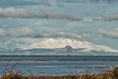 Isle of Arran from Girvan (ALANSCOTT1) Tags: snow winter clouds arran scotland isleofarran ayrshire ocean sea riverclyde