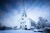 Chelmsford Church (MikeWeinhold) Tags: snow church chelmsford white winter longexposure leefilters bigstopper neutraldensityfilter graduateddensityfilter newengland