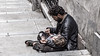 Mendigo y su hijo, Estambul, Turquía (Edgardo W. Olivera) Tags: europe europa turquía turkey estambul istanbul city ciudad panasonic lumix gh3 edgardoolivera microfourthirds microcuatrotercios portrait people gente niño child mendigo homeless
