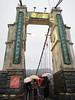 Jingan Suspension Bridge, Shifen 2. (natureflower) Tags: bridge suspension jingan shifen pinxi district new taipei showerrain taiwan