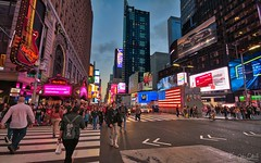 Times Square (AreKev) Tags: timessquare times square billboards advertisements digitalscreens neon lights night broadway theater theaterdistrict midtown midtownmanhattan manhattan newyork newyorkcity nyc america usa unitedstates unitedstatesofamerica nikond7100 nikon d7100 sigma 1020mm 1020mmf456exdchsm aurorahdr2018 hdr aurorahdr