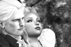 Alli and Vecchio .... (ErikoLeo) Tags: portrait flickrlovers snapaholic firestorm secondlife
