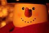 Candle light Snowman (Hylas) Tags: snowmannutcracker candlelit canon7dmarkii canonef100mmf28lisusmmacro litbycandlelight macro macromondays bokeh
