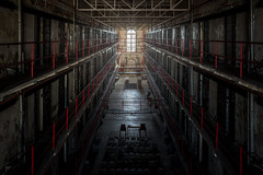 (Rodney Harvey) Tags: abandoned prison penitentiary missouri state jail cell block darkness urban decay