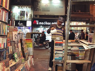 The Pleasures of Being Served With Secondhand Bookseller's Piping Hot Firsthand Chai