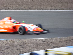 Harry Webb (Richardson Racing) & Olli Caldwell (TRS Arden Junior Racing Team) (Steelywwfc) Tags: f4 british championship powered by ford certified fia knockhill racing circuit mygale m14f4 ecoboost harry webb richardson olli caldwell trs arden junior team