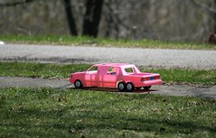 A Day in the Life of President Obama's Motorcade (FotoLense) Tags: obama motorcade potus limo barrack pink car