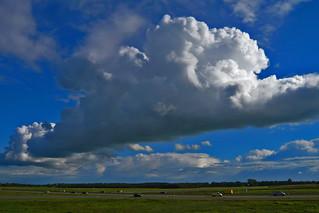 Clouds over Tynje, Fryslân - The Netherlands (1140216)