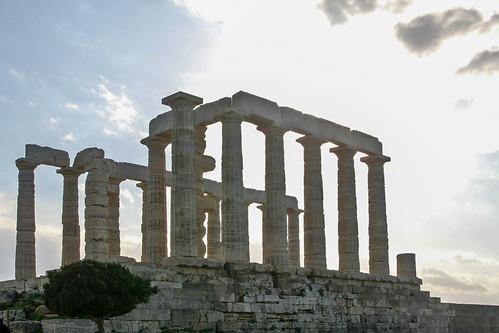 Temple of Poseidon, Cape Sounion, Greece 3/11/09