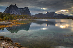 Granite Reflections (hapulcu) Tags: arctic ballangen nordland norge noruega norvege norvegia norway norwegen automne autumn autunno herbst høst toamna