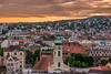Sunset in Buda (Vagelis Pikoulas) Tags: sun sunset view city cityscape landscape canon 6d tamron 70200mm vc travel september autumn 2017 building buildings church