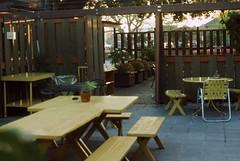 unknown patio - November 1976 (menloparkplanning) Tags: ektachrome slide menlopark sanmateocounty california scannedphoto historicalphoto historical patio