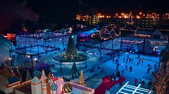 Queen Mary's Chill, Long Beach (sygridparan) Tags: queenmary chill longbeach icerink iceadventurepark festival lights holidays christmas winter