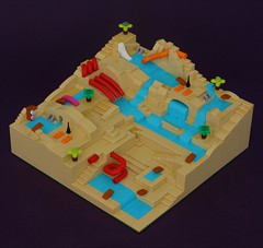 Pool Party (simplybrickingit) Tags: lego architecture fun city micro macro pool colourful bricks toy model moc 2017 uk art