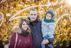 Family (Monika Žukauskytė) Tags: family happy christmastree christmastime klaipeda kaledos kid child gold winter 50mm photography nice