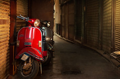 Vintage style (Ahmed Nabiel) Tags: vintage vespa red explorer explore explor egypt d300 best art urban architecture great creative street yellow city nikon nikond300 nice light picture lightroom history filter lovely photography photographer abstract award arabia streetphotography downtown flickraward flickr flickrunitedaward flickrunitedwinner flash locaion lighting speedlight colors classic cairo