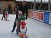 iceskating with help of a penguin and dad (jdel5978) Tags: ijs ice glace patinoire iceskating eisbahn antwerp antwerpen anvers winter hiver