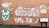 yellow pig (Harry Halibut) Tags: 2018©andrewpettigrew allrightsreserved imagesofsheffield images sheffieldarchitecture sheffieldbuildings colourbysoftwarelaziness sheffield south yorkshire publicartinsheffield public art streetart graffiti murals 37 pig bole hill lane crookes sheff1801040919