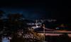 john daly summit (pbo31) Tags: bayarea california nikon d810 color dark night black boury pbo31 lightstream motion winter over infinity roadway traffic dalycity sanmateocounty streetlights overpass exit ramp 280 highway silhouette