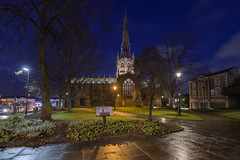 _IMG4973All Saints Church, also known as Rotherham Minster (Pete.L .Hawkins Photography) Tags: hd pentaxd fa 1530mm f28 ed sdm wr petelhawkinsblueyondercouk petehawkinsphotographycom rotherham by night