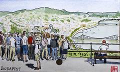 Budapest (chando*) Tags: aquarelle watercolor croquis sketch