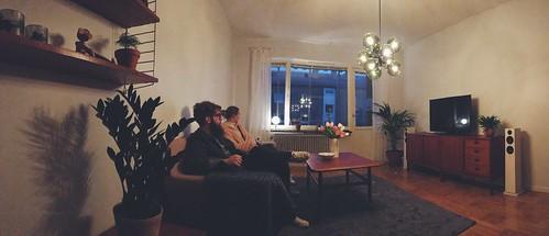 Emma & Markus har köpt nya möbler