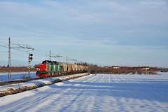 Grano mattutino (Paolo.Giordano) Tags: d100 cereali treno neve ferrovia