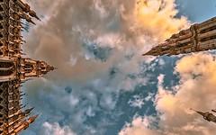 Say you won't let fall (PokemonaDeChroma) Tags: sky above hdr dramatic sunlight clouds ciel nuages lahaut langit awan yangdiatas