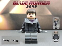 Custom LEGO BLADE RUNNER 2049: Luv (Will HR) Tags: lego bladerunner bladerunner2049 custom minifigure