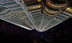 up to sky (poludziber1) Tags: street streetphotography skyline summer sky city cityscape capital clouds kualalumpur malasya architecture abstract up urban building challengeyouwinner cyunanimous