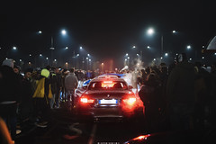 MIDNIGHT MEETING (GIOPPER93) Tags: hardcore drivers bmw bimmer m4 msport automotive car racing meeting photography night light stance