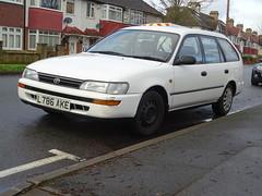 1993 Toyota Corolla GLi Estate (Neil's classics) Tags: vehicle wagon estate