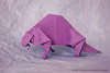 Robert Lang's Dimetrodon (origami_artist_diego) Tags: origami paperfolding dimetrodon prehistoric creature robertlang