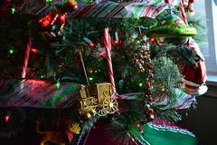 Happy Holiday's (Reed 1949) Tags: happyholidays merrychristmas christmastree lights garland decorations holiday peaceful train horse spaceship lion nikon nikond5200 tamron18270mm shoreline washington