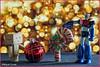 Feliz Navidad! (mike828 - Miguel Duran) Tags: bokeh danbo juguete mazingerz navidad robot toy christmas