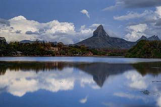 Tamarin mountain reflection