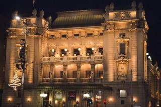 National Theatre in Belgrade, Serbia