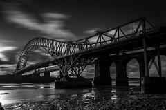 #runcorn #widnes #bridge #blackandwhite #longexposure (lindsayadams3) Tags: blackandwhite runcorn longexposure widnes bridge