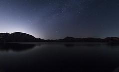 Starry Lake (malhotraXtreme) Tags: hampi travel karnataka night indi wander long exposure slow shutter sunset lake wide fisheye unesco heritage trip site
