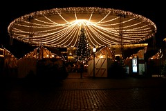 Christmas market on Nytorv (Jaedde & Sis) Tags: nytorv viborg christmas light night market decorations challengefactorywinner unanimous thechallengefactory friendlychallenges gamewinner xmas