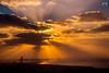 Dramatic Evening in Dubai (Yogendra174) Tags: dubai sunset burjalarab evening sunrays dramatic dramaticclouds