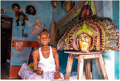 The Man and his Pride .... A world class Chou Dancer of Chorida(Purulia) ....  #amritendu #india #incredible_india #jamshedpur #purulia #streetsofindia #streetphotography #natgeotravel #natgeo #lonelyplanet #streetphotographyindia #india_undiscovered #IAM (Amritendu Das) Tags: indiasb natgeotravel jamshedpur purulia mypixeldiary natgeo woi incredibleindia tradition chounanch streetphotographyindia indiatravelgram indiaeveryday streetsofindia yourshotindia indiaundiscovered indiaclicks streetphotography indianphotography desidiaries storiesofindia chorida india igersofindia lonelyplanet chou iamnikon amritendu coiamritendupuruliawestbengalamritjsryahoocoincharidachhauchhaumaskchhaunachchhaumaskchhaunachchordaculturefestivalincredibleindiaindiajharkhandlonelyplanetmasknatgeotravellernatgeotravellerpatamdapeoplestreetstreetsofindi