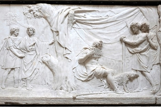 Sculptures de Pierre Julien - Laiterie de la Reine
