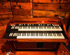 Camouflage (Pennan_Brae) Tags: organ musicphotography music percussion keyboards keyboard recordingsession recordingstudio recording organist musicstudio hammondorgan hammondb3